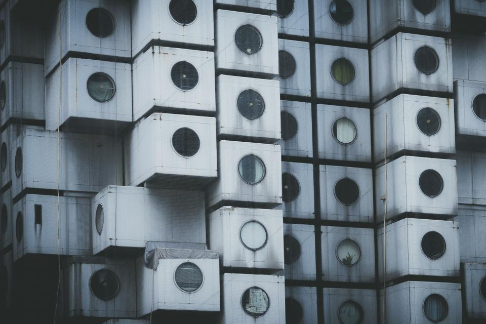 architecture building infrastructure nakagin capsule tower japan landmark