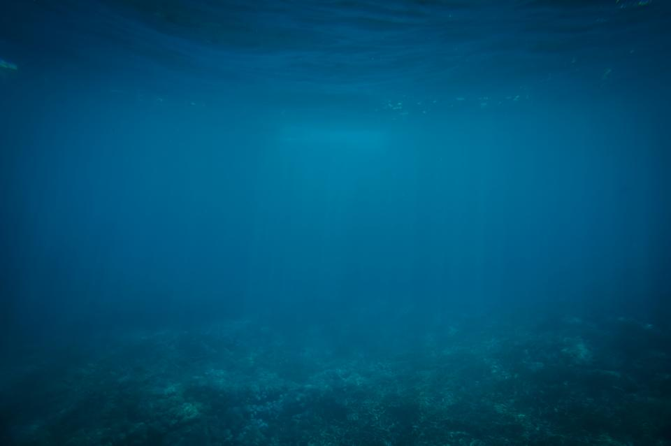 under water ocean sea blue