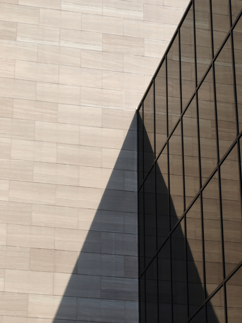 architecture abstract structure building glass shadow perspective city modern design exterior business office futuristic