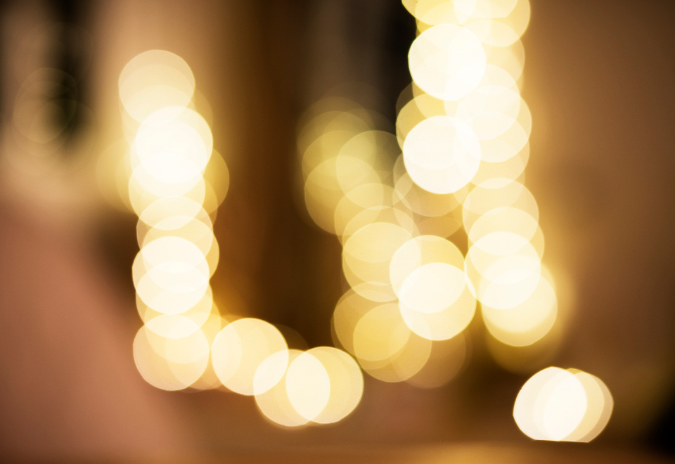blurred bokeh celebrate celebration decorate decoration event festive glam happiness lights new years eve night nobody nye objects occasion party