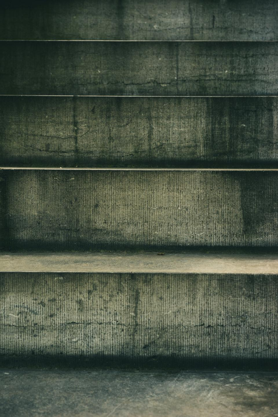 concrete stair texture outside