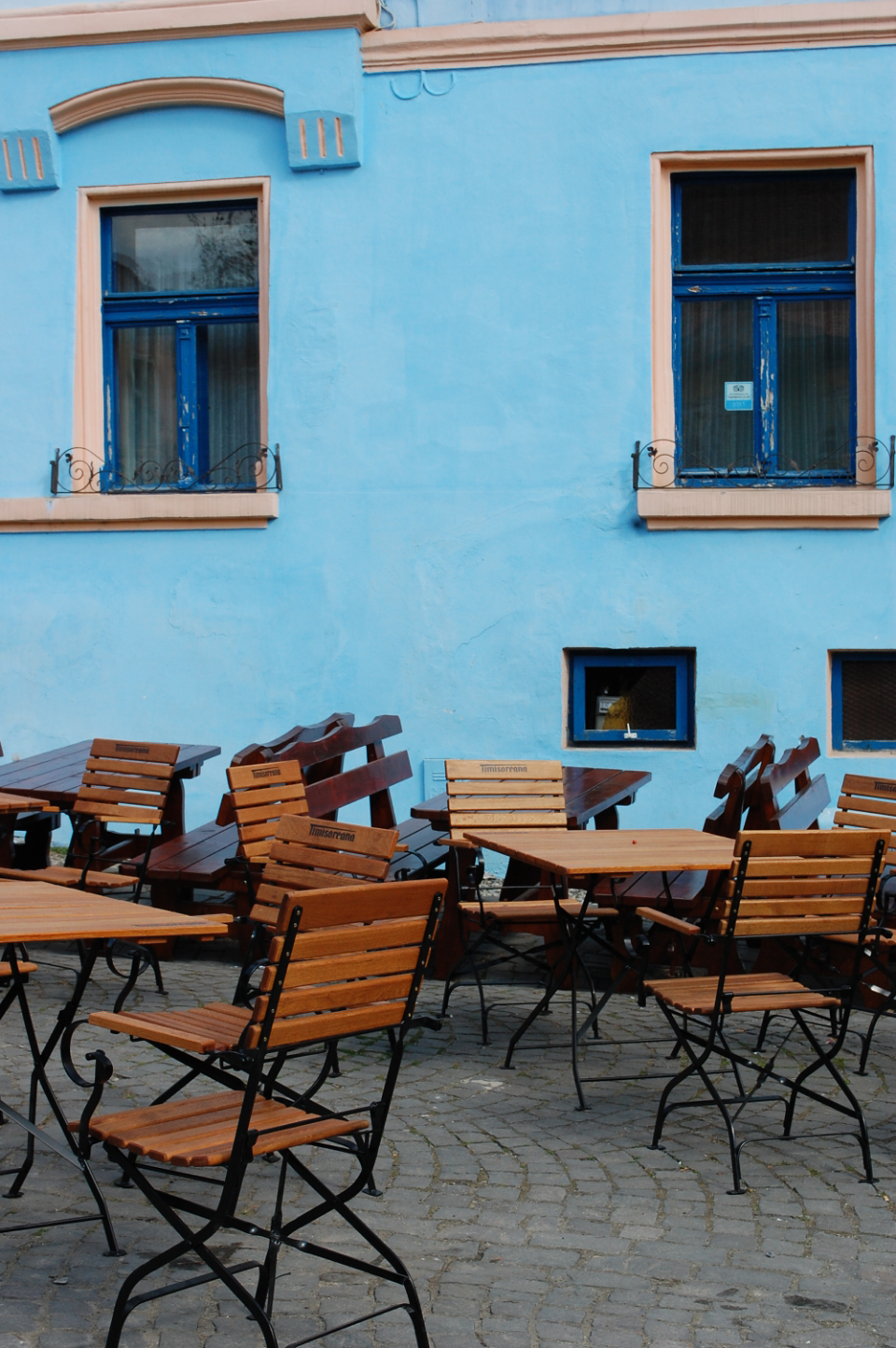chairs outdoor dining restaurant architecture travel