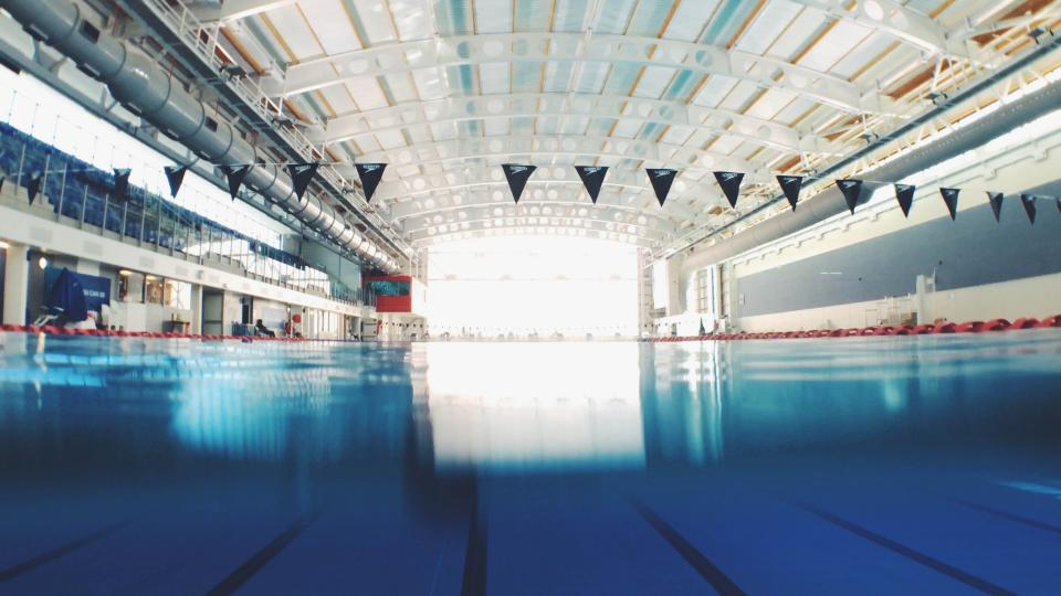 swimming pool sport venue indoor water