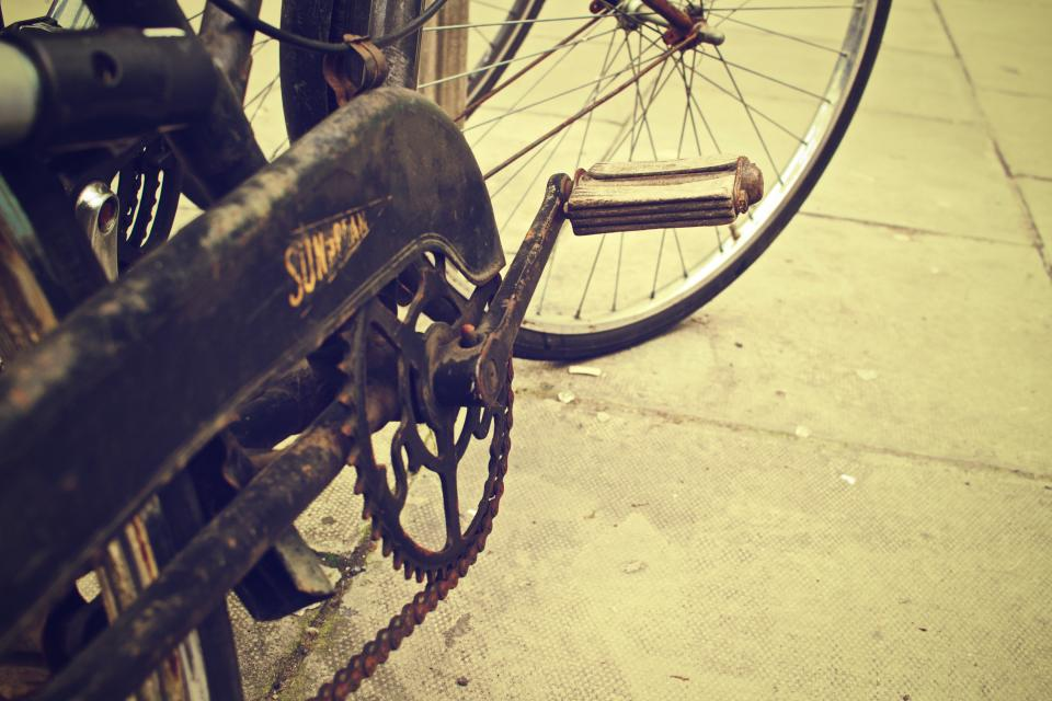 bike bicycle chain vintage oldschool