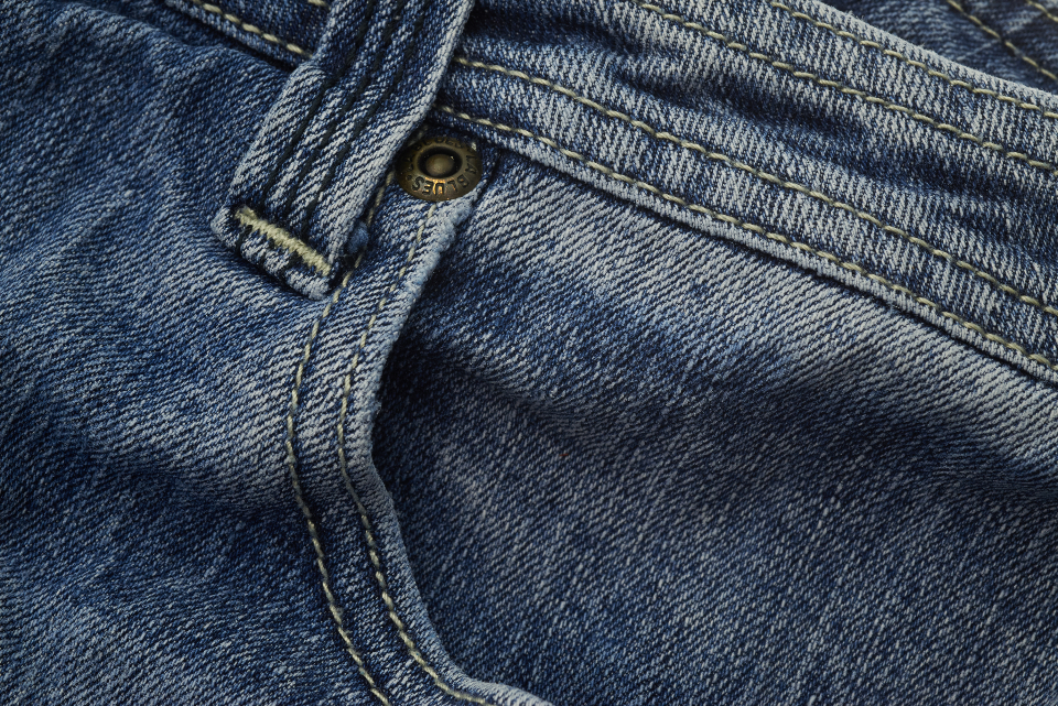 blue jeans pocket denim detail texture apparel clothing pants casual fashion stitch textile faded