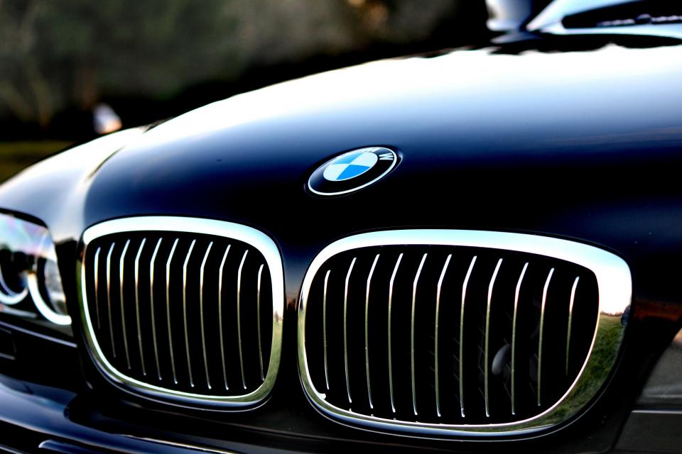 bmw car company vehicle close-up travel transportation