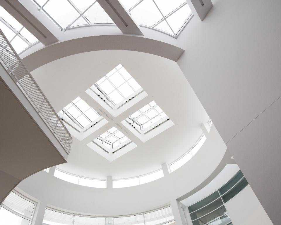 architecture building infrastructure white ceiling design
