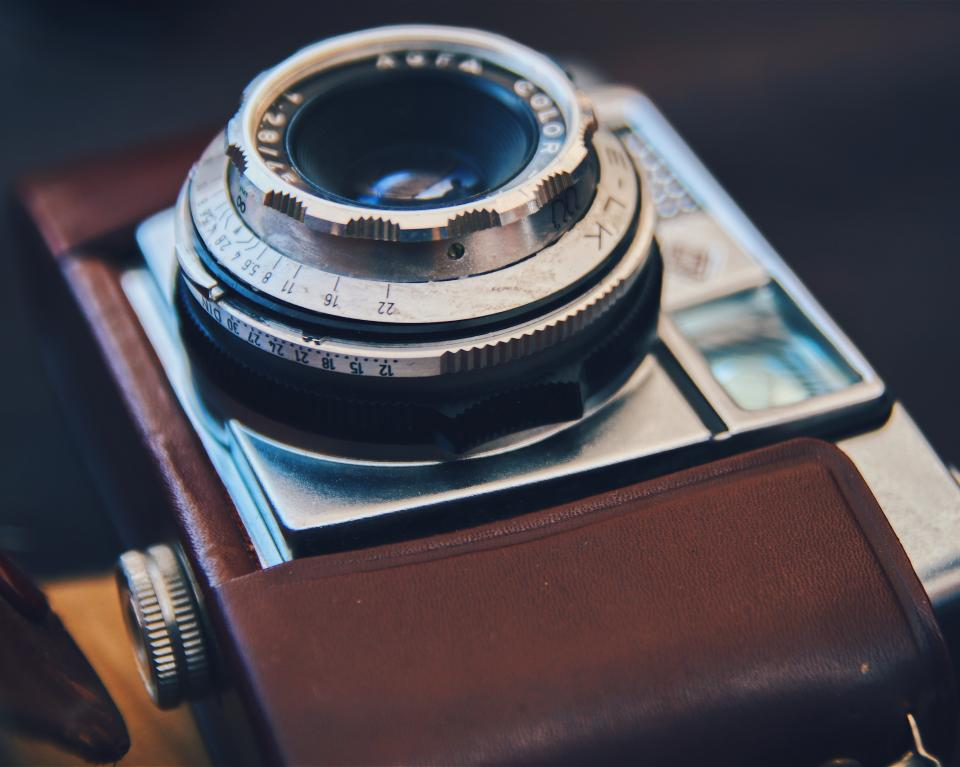 vintage camera lens photography