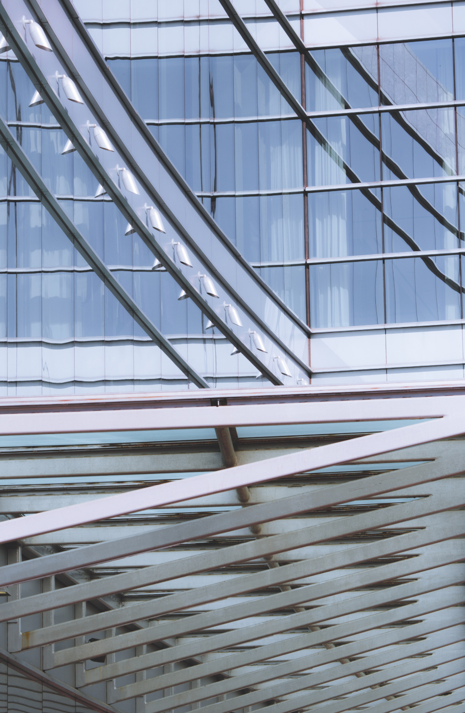 abstract background building modern perspective architecture metal roof steel sky ceiling beam glass design city urban business