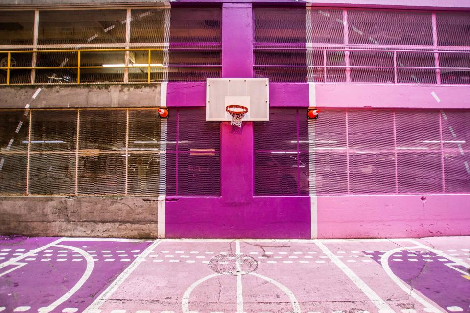 architecture building basketball court sport venue ring