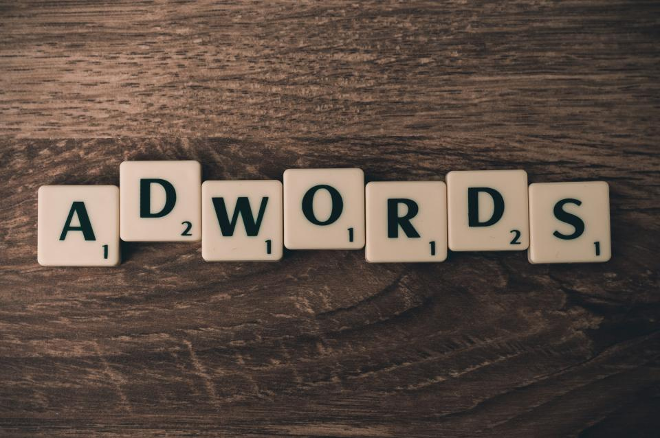 adwords advertising marketing business scrabble