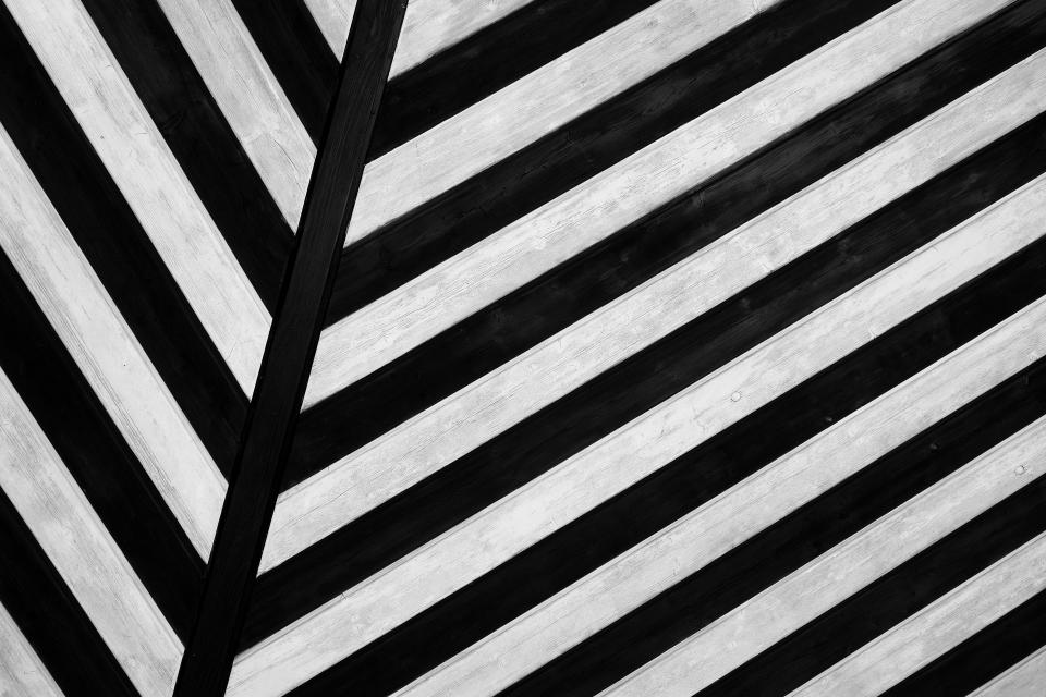 design art black white lines symmetry
