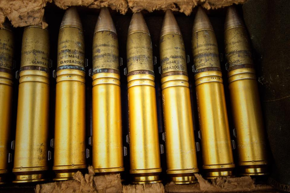 ammo ammunition brass golden bullets
