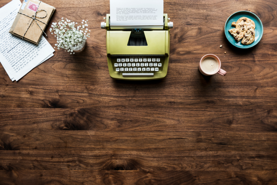 aerial author background beverage cafe career casual classic cookie cup decoration document drink editorial envelope equipment flat lay flatlay flower freelancer hobby home office hot drink journalist keyboard machine milk tea mug old fashion