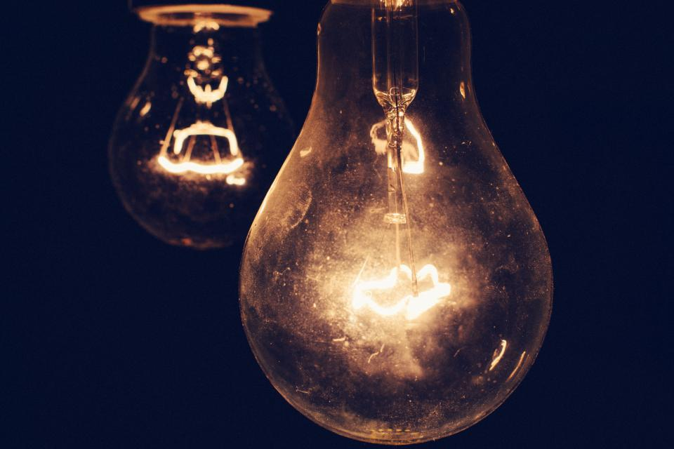 lights light bulb light bulbs fixtures idea dark night evening