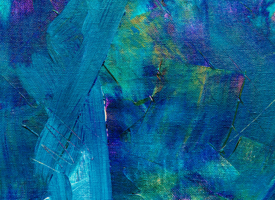 blue abstract painting paint brush brushstroke acrylic art artist creative design close up hd wallpaper oil canvas detail wallpaper background