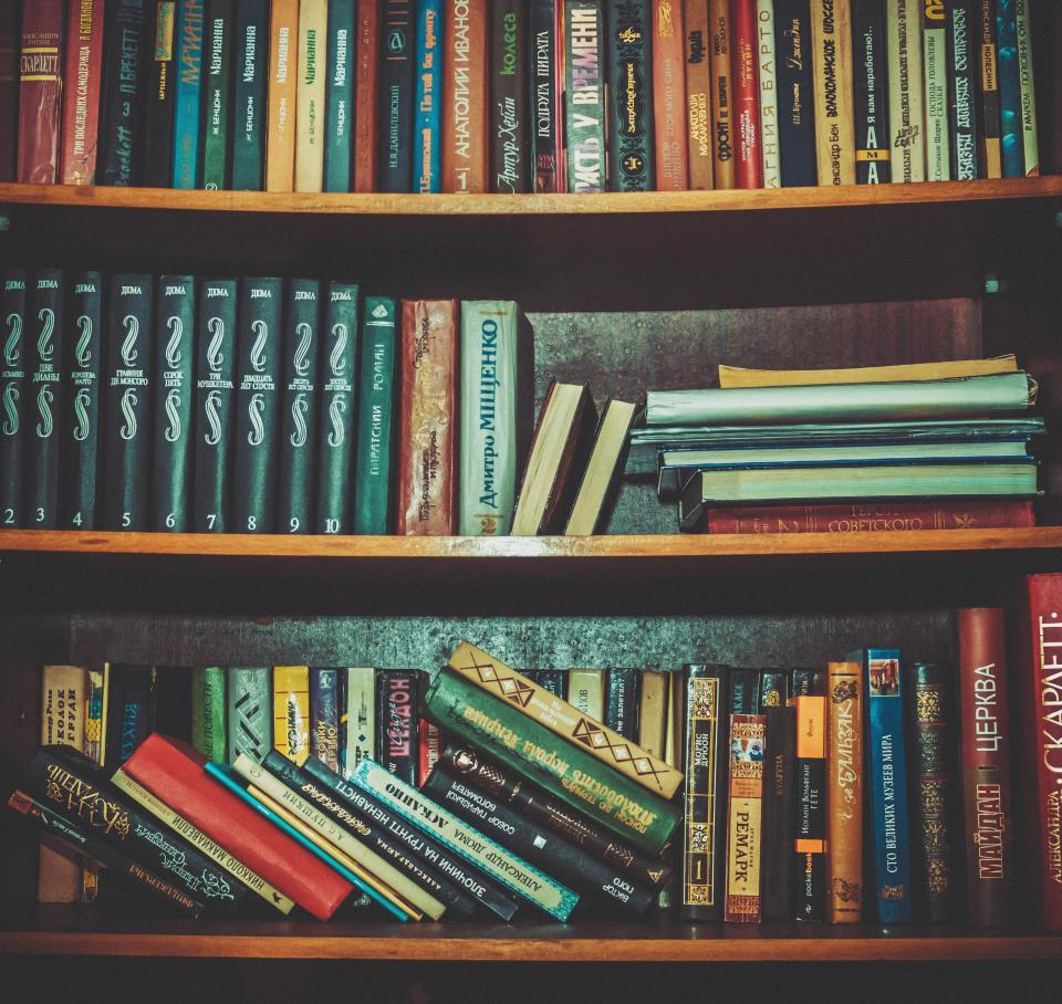 books shelf school library study knowledge education