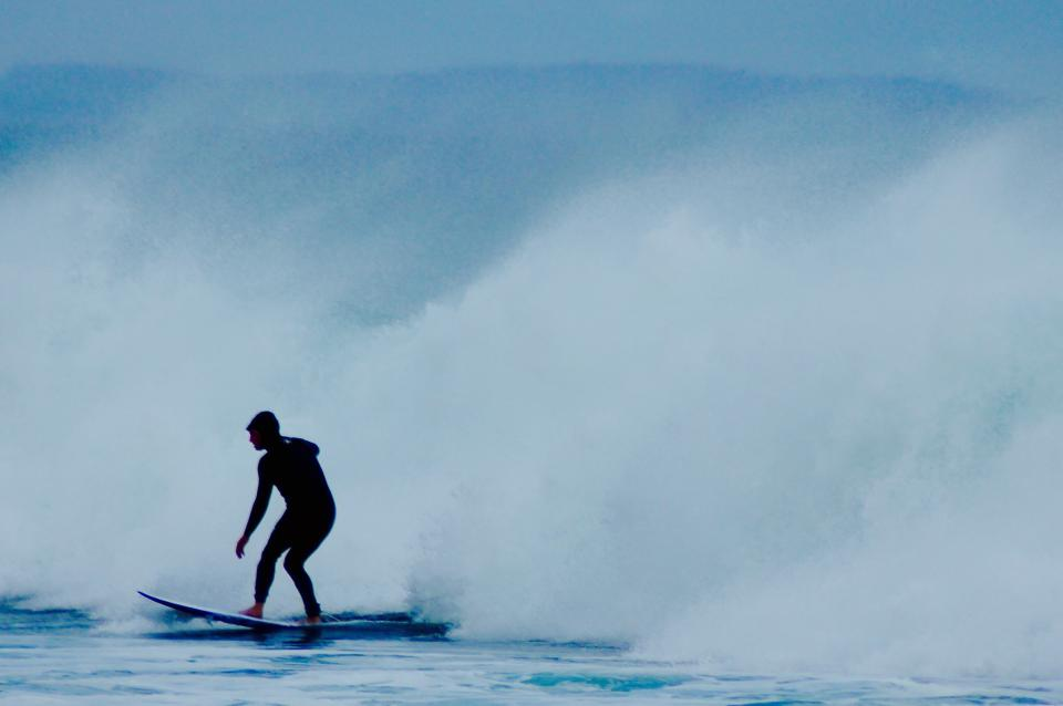nature water waves surf surfer people man blue