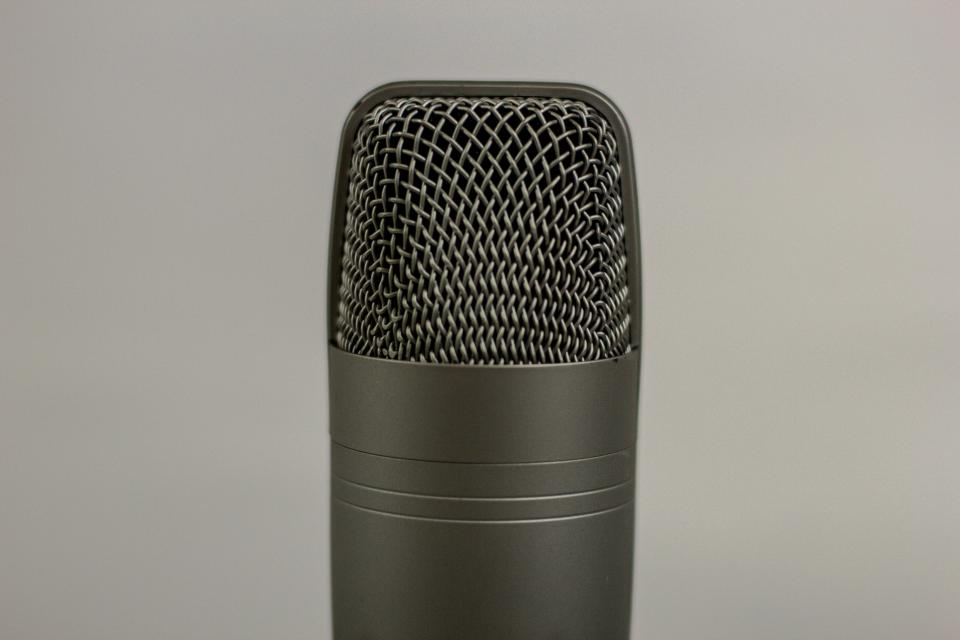 mic microphone recording audio podcast