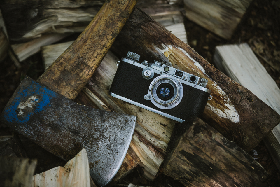 vintage camera axe wood chopped wallpaper hd leica classic retro photo photographer