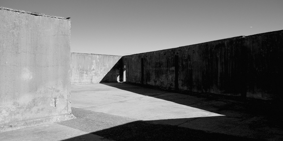abstract concrete structure