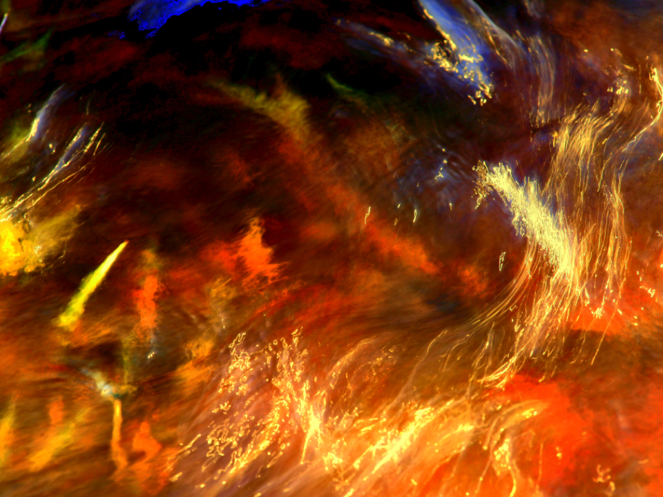 abstract fire water