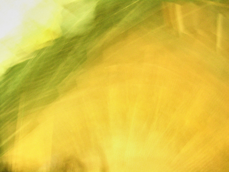 abstract yellow swirl