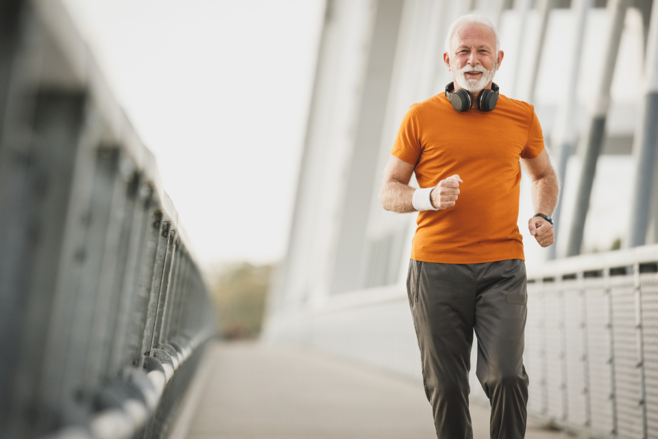 Free stock photo of active senior