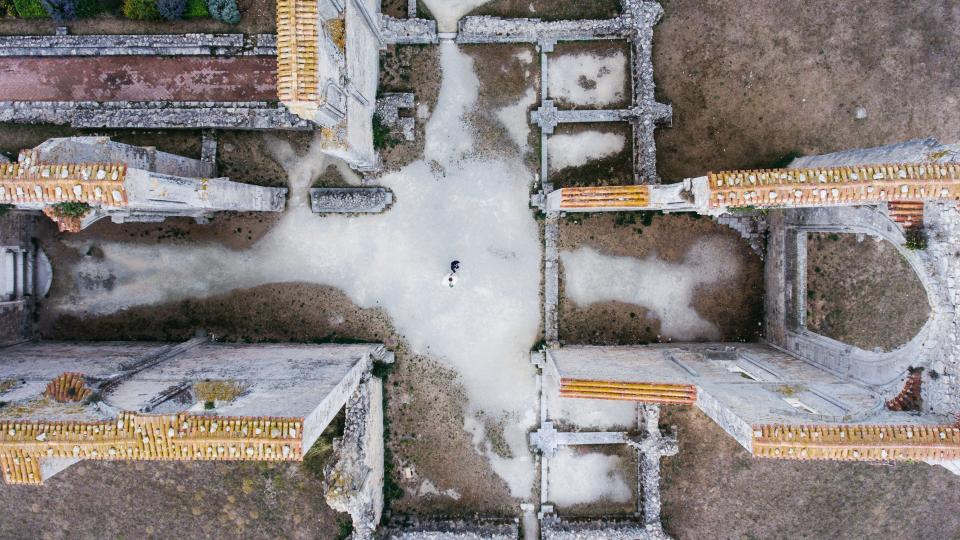 Free stock photo of aerial view