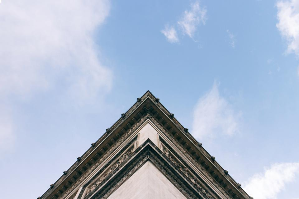 architecture building roof