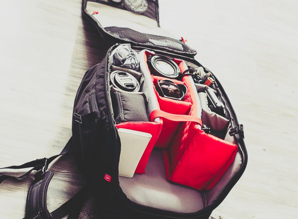 backpack gear equipment