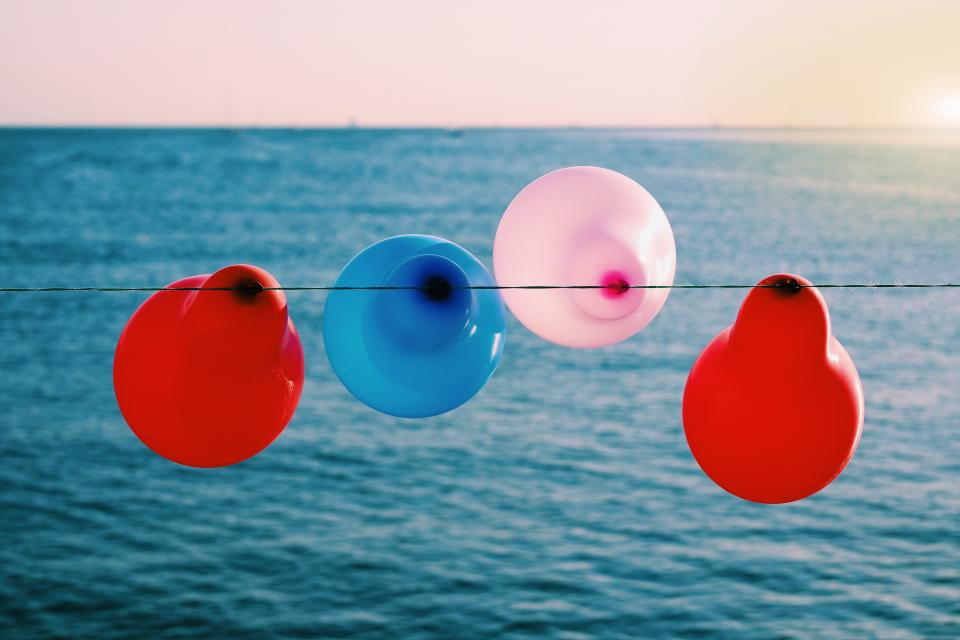 balloon colorful red