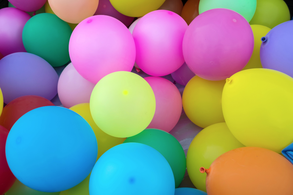 balloons party celebration