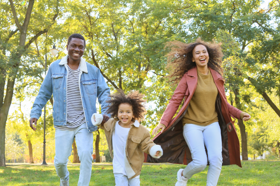 Free stock photo of black family