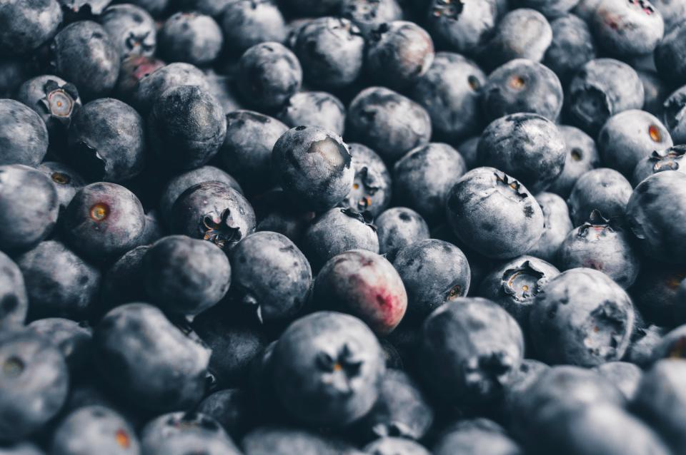 blueberries berry fruits