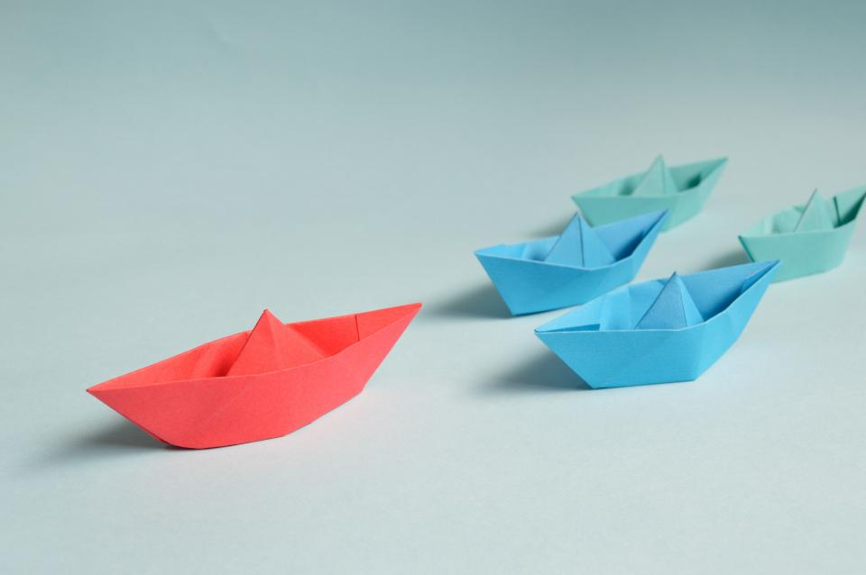 boat paper toy
