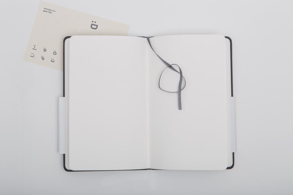 book notebook diary