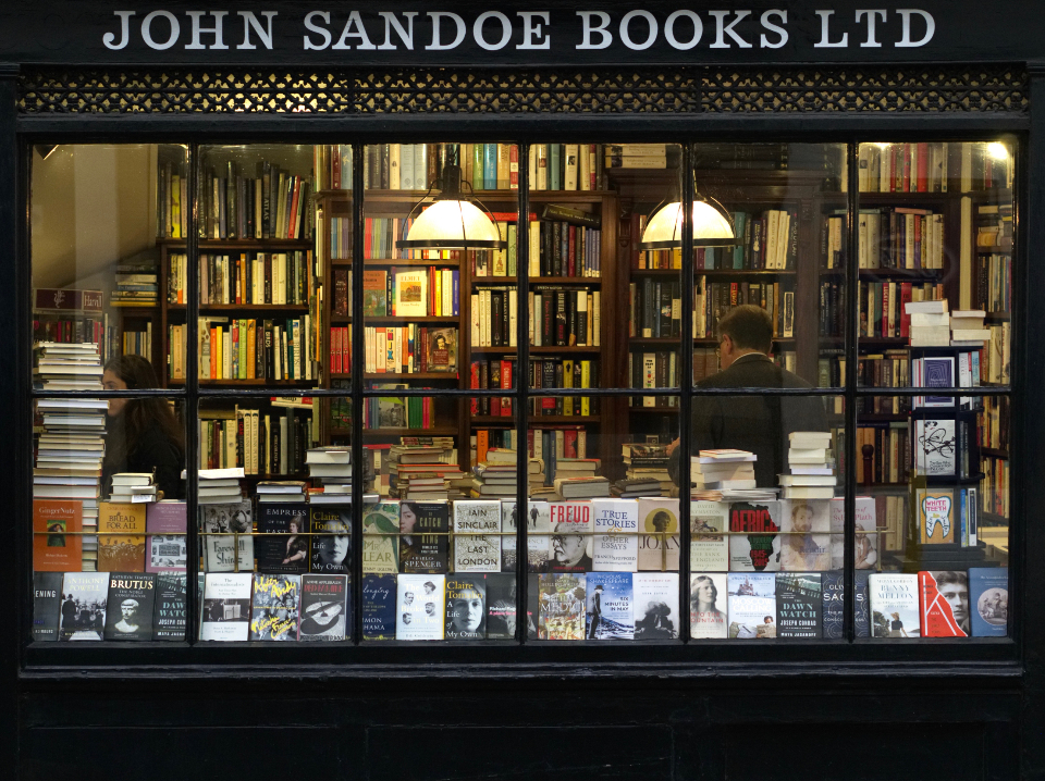 Free stock photo of book shop
