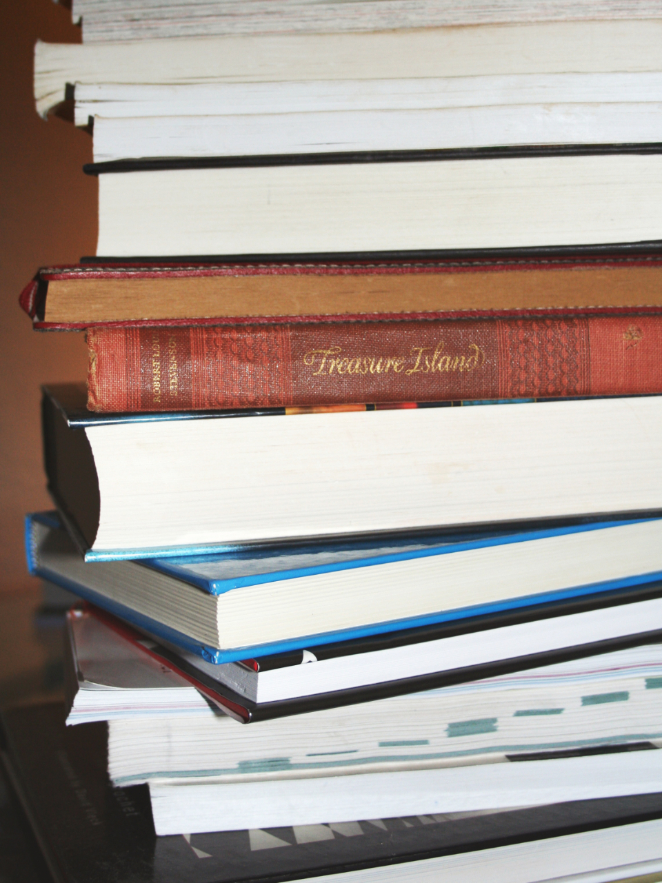 Free stock photo of books stacked