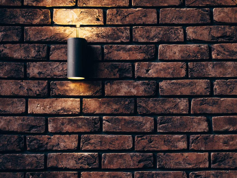 bricks wall light