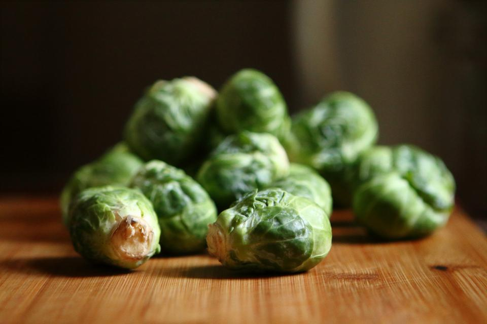 brussels sprouts vegetables green