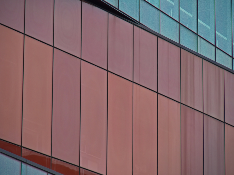 building abstract exterior