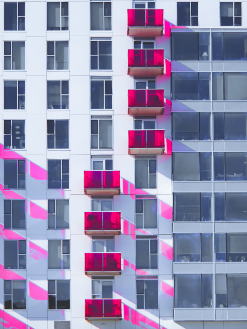 Free stock photo of building balconies