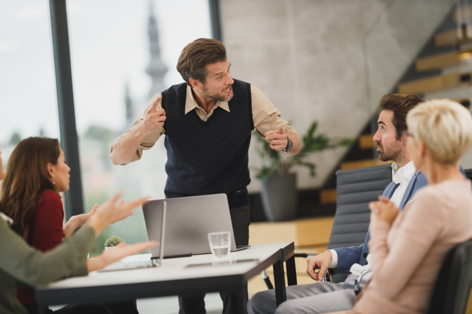 Free stock photo of business people