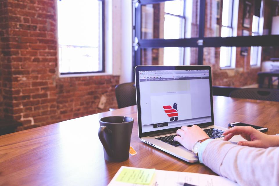 Free stock photo of business working