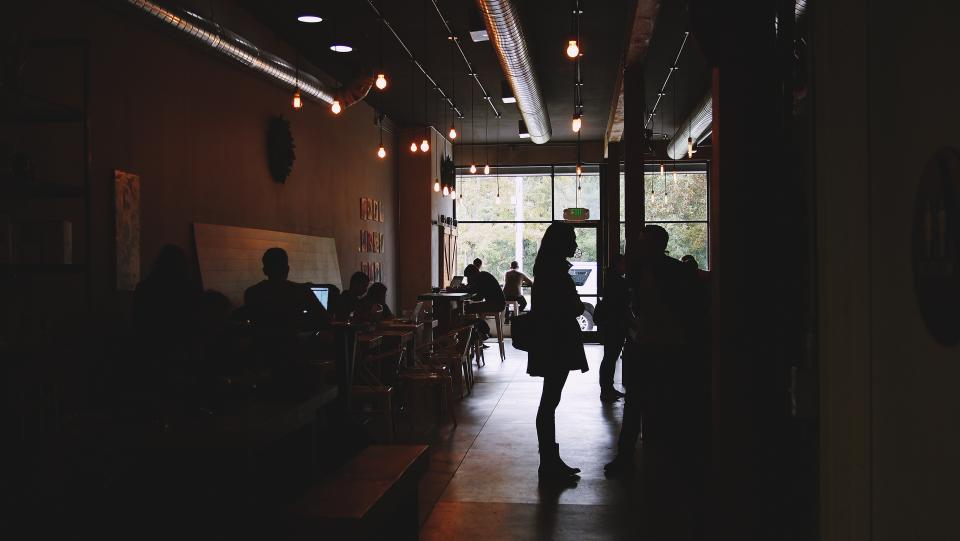 Free stock photo of cafe people