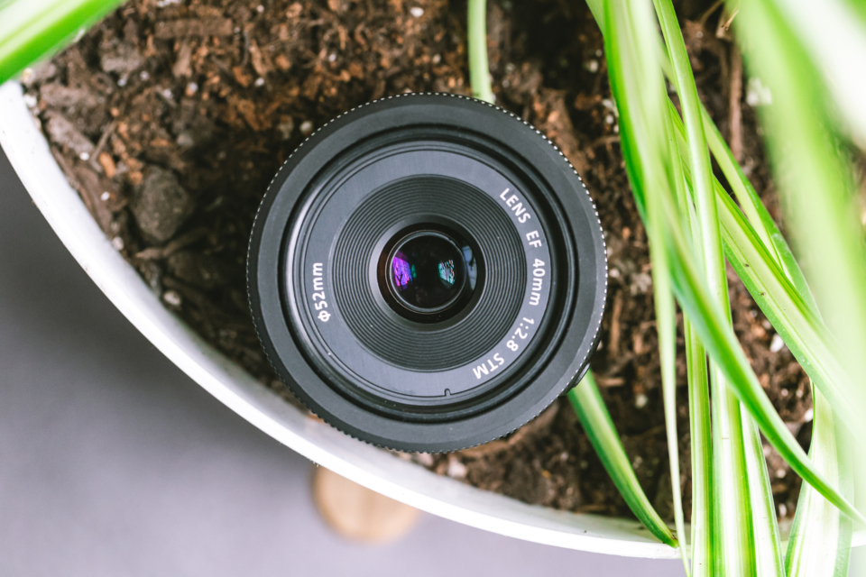 camera lens front