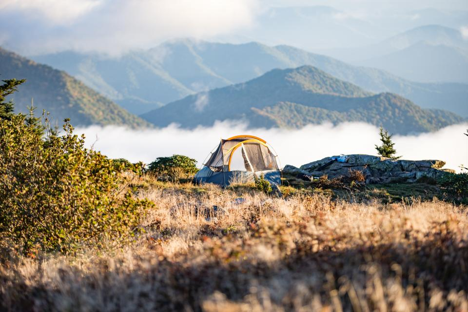 Free stock photo of camp tent