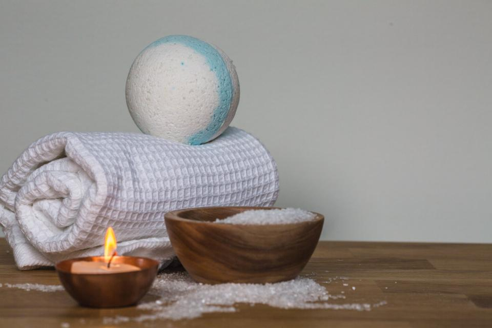 candle cloth ball