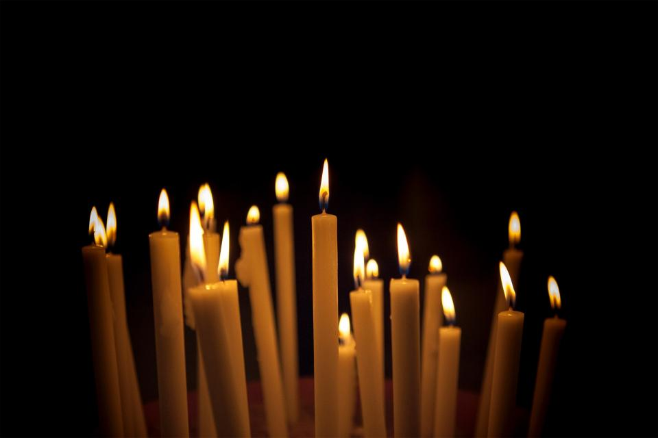 Free stock photo of candles light